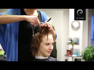 Medium wavy hair to short pixie haircut -extreme makeover by jacky