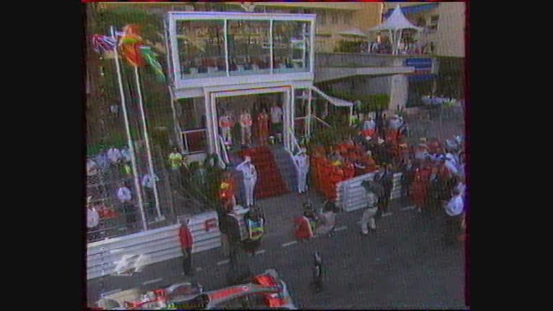 Формула 1. Гран-при Монако (Первый национальный, 27.05.2007) Концовка