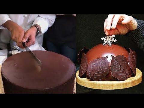 Como Hacer Pasteles de CHOCOLATE - Decoracion Pasteles Increibles 2018 l Video Satisfactorio