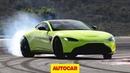 Aston Martin Vantage 2018 review Porsche 911 rival driven Autocar