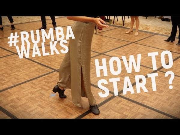 How to dance rumba walks | Technique | Anna Kovalova | Lecture series Pt.1