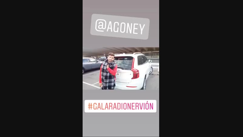 Agoney. Bilbao 22.11.2018