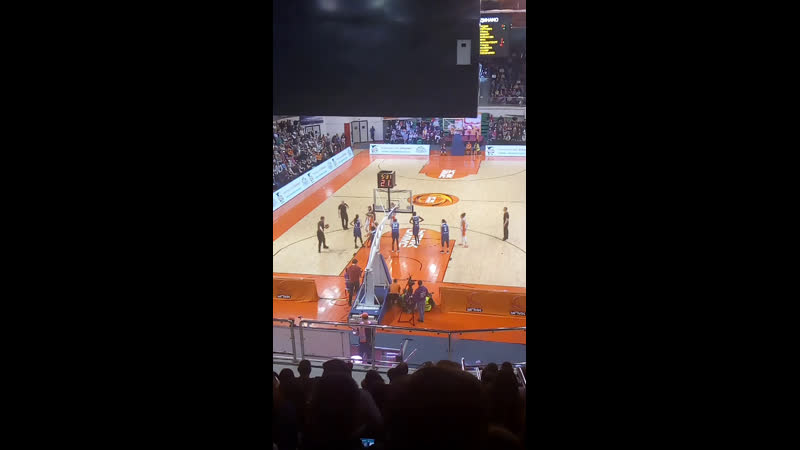 Матч баскетбол