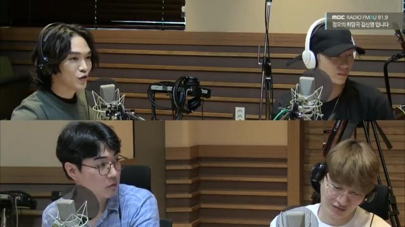 180809 VIXX Leo @ MBC FM4U Kim Shin Young's Noon Song of Hope Visual Radio