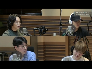 |180809| VIXX Leo @ MBC FM4U Kim Shin Young's Noon Song of Hope Visual Radio