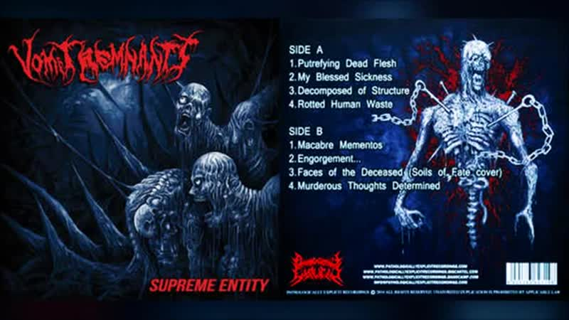 Vomit Remnants - Supreme Entity 1999