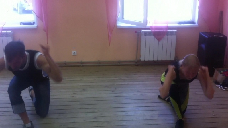 танец целиком под музыку