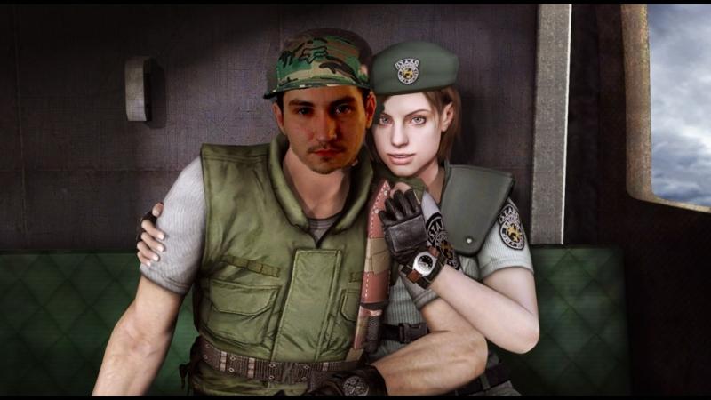 Resident Evil HD Remaster Хард Мастер ран Крис