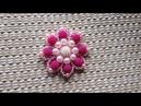 Como fazer |flor de perolas| Adriana Valério