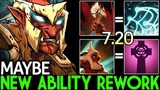 Maybe Troll Warlord New Ability Rework Crazy Gameplay 7.20 Dota 2