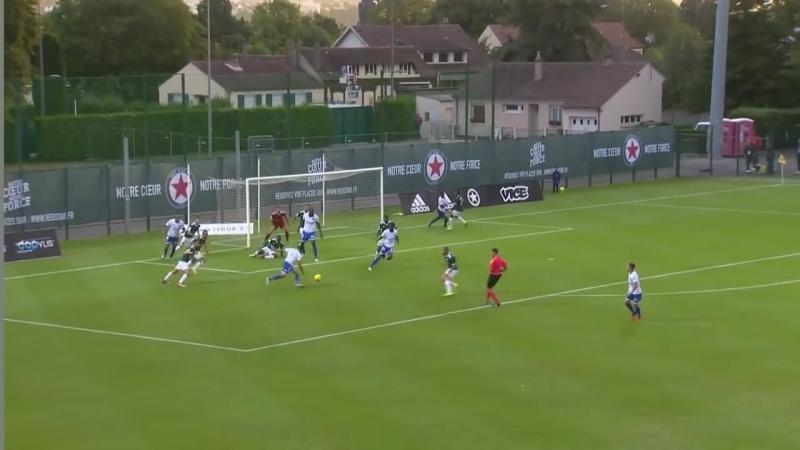 Red Star FC - AJ Auxerre ( 1-0 ) - Résumé - (RED - AJA) _ 2018-19