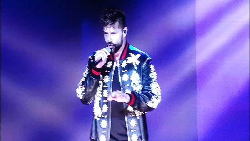 Ricky Martin - Pégate @ Budapest 2018 LIVE