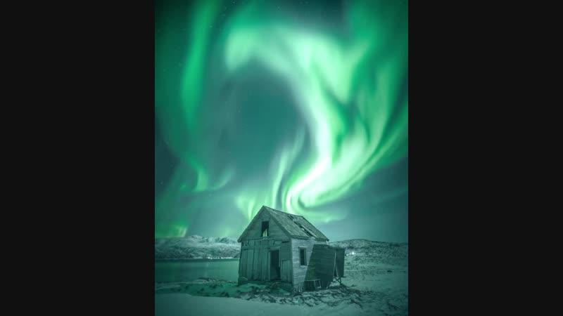 Amazing Aurora storm Captured outside Tromsø, Norway. Big thanks to @jonathanwennstroem Whox27;d bring this image back to life.