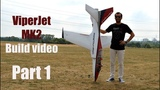 VIPERJET MK2 RC airplane build video by Ramy RC, Part 1