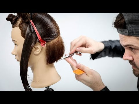 Why am I Cutting a Bob Haircut using Horizontal and Vertical Sections? | MATT BECK VLOG S2 20