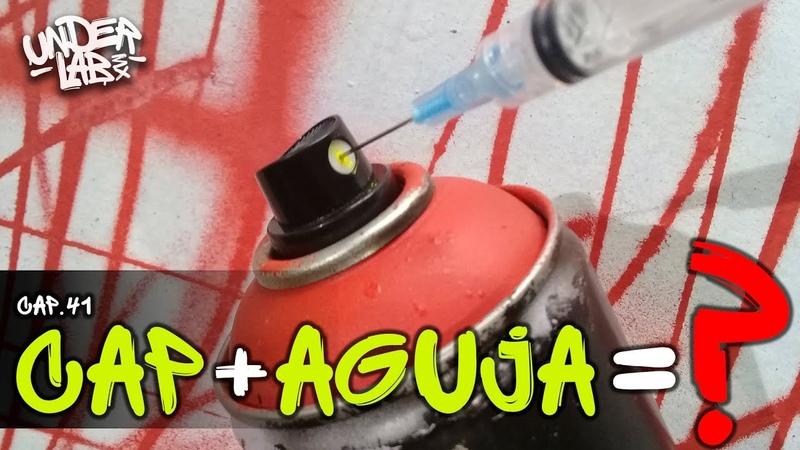 El truco de la AGUJA en GRAFFITI - Underlab MX - Cap 41