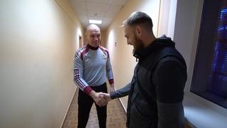 У вратаря ФК Оренбург Евгения Фролова исполнилась детская мечта