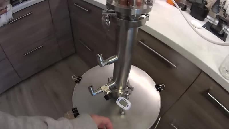 Односолодовый виски на Кодзи ч3 Дробная дистилляция на узле отбора