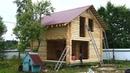 Сруб бани 6.0х6.0м. полтора этажа под крышей Тосно . Цена в СПб 268.432 руб.