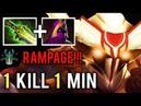 1 KILL 1 MIN RAMPAGE Shotgun Veil Juggernaut vs Disable Team Make Enemy Rage Quit Gameplay Dota 2