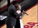 Maurice Cheeks National Anthem with Natalie Gilbert