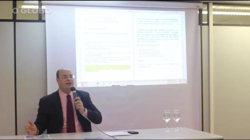 Wilson Witzel candidato a governo do Rio ensinando truque para juízes ganharem gratificação
