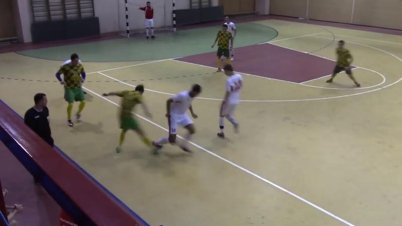 Обзор Зодиак - БелГАУ (06.12.18) Чемпионат Белгорода по мини-футболу JOMA RUS 2018-19