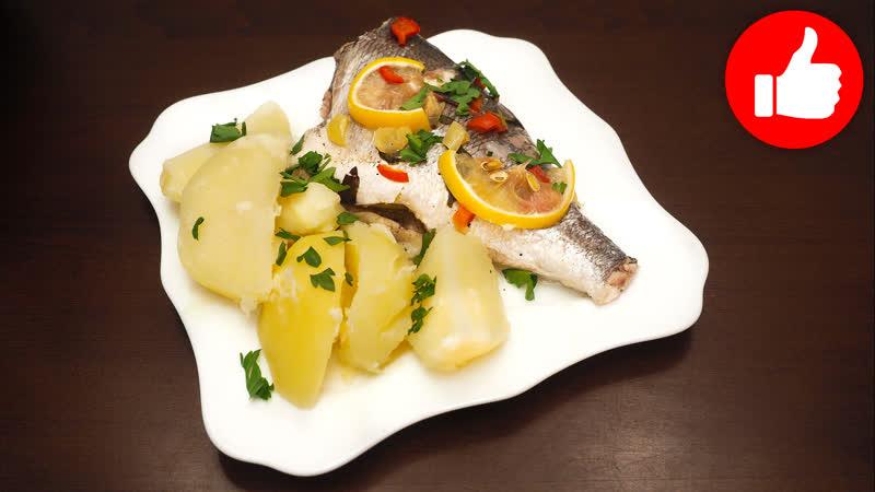 Два блюда в мультиварке. Вкусная рыба на пару с отварной картошкой в мультиварке, простые рецепты для мультиварки. Мультиварка