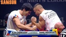 ARMWRESTLING FINAL MOLDOVA OPEN CUP LEFT HAND 70 - 95
