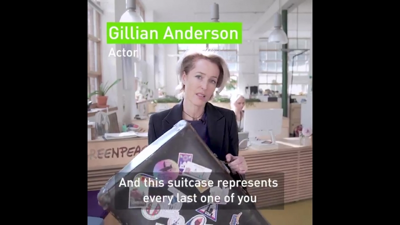 The incredible @GillianA joined @GreenpeaceUK to deliver over 365,000 names to the UK Government, calling on them to stand up fo