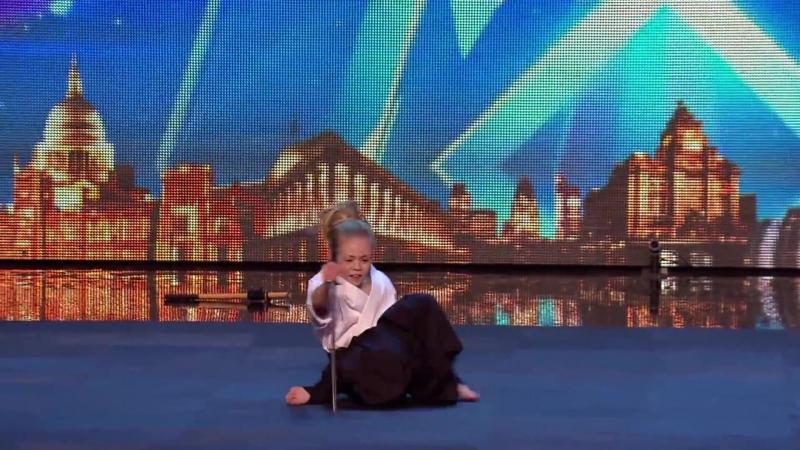 XMA Katana Dont mess with karate kid Jesse ¦ Audition Week 2 ¦ Britains Got Talent 2015