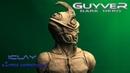 Гайвер история создания Скульптура персонажа Guyver Лепка антигероев