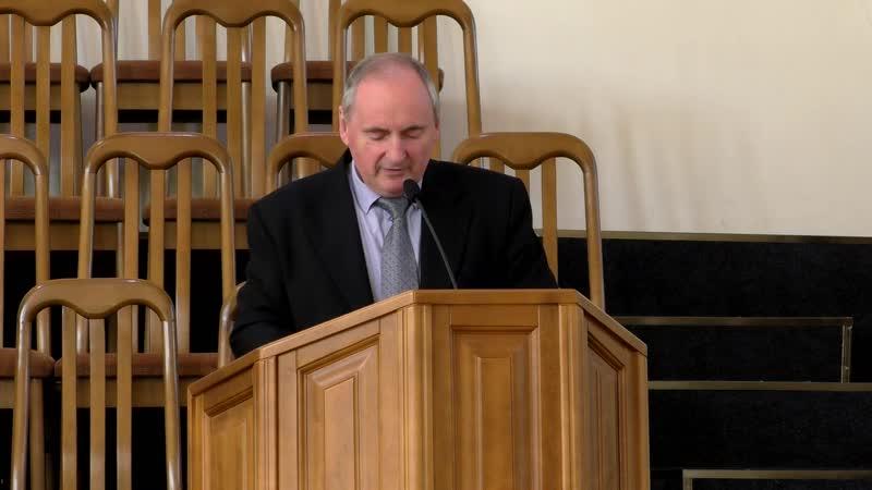 Проповедь (Еф.6.10 - 18) - пастор Виталий Анатольевич Юрченко