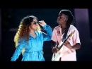 H E R and Daniel Caesar 'Focus' 'Best Part' Performance BET Awards 2018