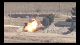 A military vehicle of Turkish invasion army has been destroyed in Kobane