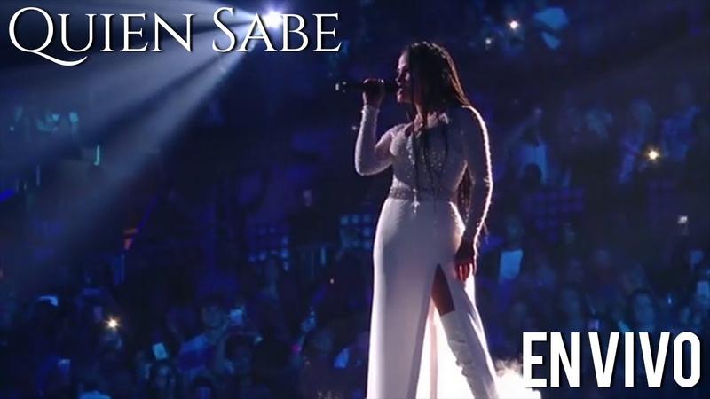 Natti Natasha Quien Sabe ❤ Live Premios Juventud