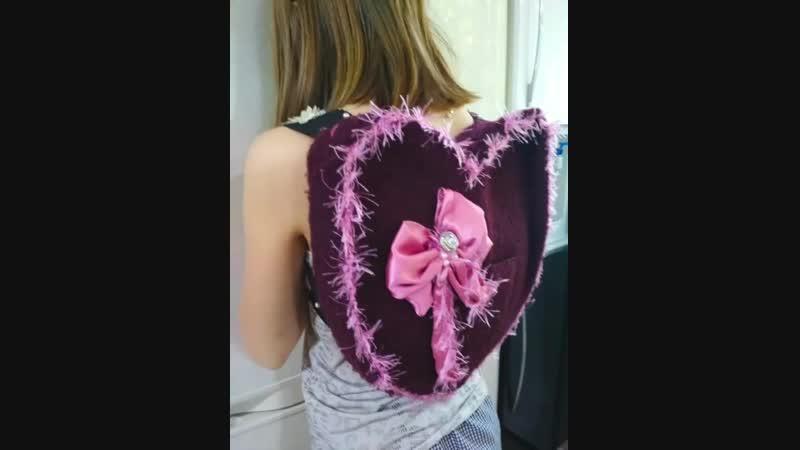 Когда у мамы вОлШеБнОе настроение), то ненужный пиджачок может превратиться в рюкзачок!мастерствосвоимирукамирукоделие
