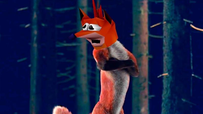 Crash Bandicoot WOAH Does The Fox Say