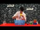 Химический эксперимент №9 Смешаем перекись водорода и марганец