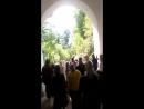Проход через Никольскую часовню с верхнего монастыря на нижний.