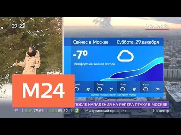 Утро облачная погода ожидается в столице 29 декабря Москва 24