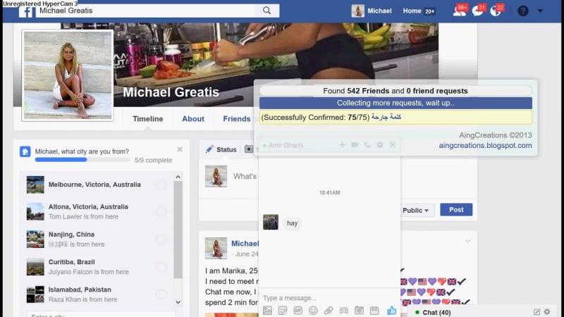 Как заполнять в группы facebook без ограничений Трафик из facebook