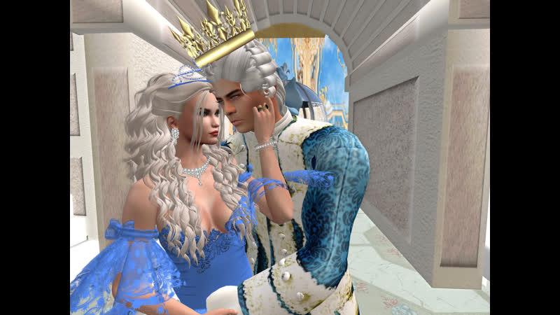 """Игра-Second Life. """"В гостях у сказки """"- Поздравления влюбленной пары, Skazkaaa - alexmxn 1 с годовщиной..Клуб-Ля-минор"""