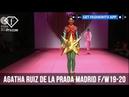 AGATHA RUIZ DE LA PRADA Madrid Fall/Winter 2019-20 FashionTV FTV