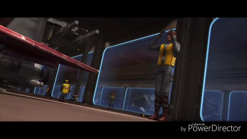 Star Wars the Clone Wars Battle Rilot music game