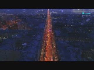 Как выглядит место пожара на Большом проспекте П.С. Кадры с коптера
