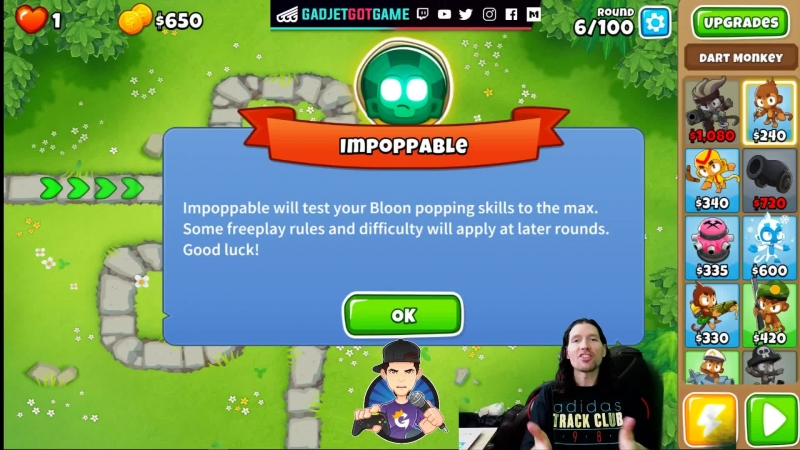 Bloons TD6 Time Impoppable Style Come Watch