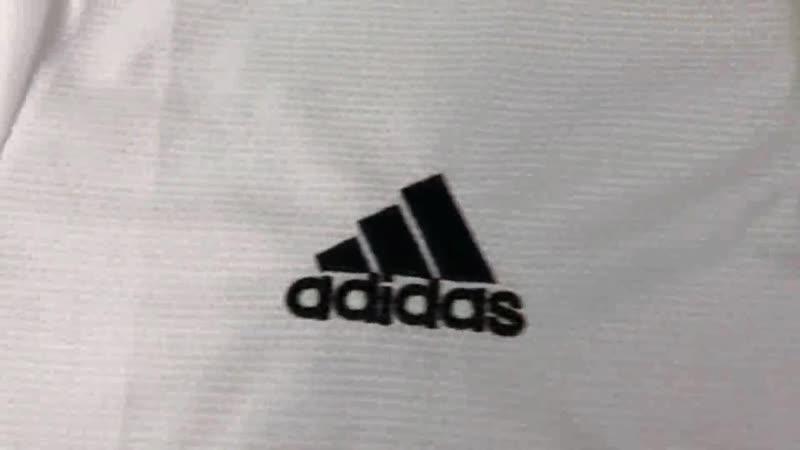 Реал М. Обзор фанатской версии домашней футболки.