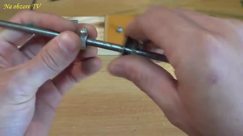 Сделай и себе этот инструмент _ точилка для ножей своими руками cltkfq b ct,t n