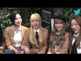 181012 Twitter BlueRoom LIVE - 우주소녀(WJSN)